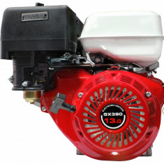Motor Pe Benzina Micul Fermier 13 Cp, 4 timpi, ax pana 25 mm - Motor electric