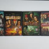 Colectie Piratii din Caraibe, DVD, Romana