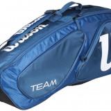 Team II 3 2016 Tennis Bag albastru, Wilson