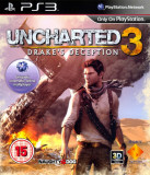 Uncharted 3 Drake's Deception - PS3 [Second hand], Actiune, 12+, Single player