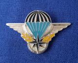 Insigna militara Parasutism - Aviatie - simbol Nato