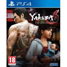 Joc consola Sega YAKUZA 6 THE SONG OF LIFE D1 EDITION PS4 - Jocuri PS2
