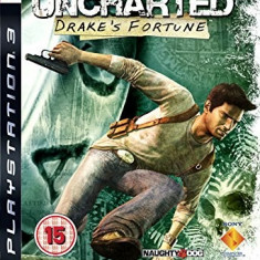 Uncharted Drake's Fortune - PS3 [Second hand] - Jocuri PS3, Actiune, 12+, Single player