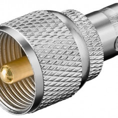 Adaptor BNC mama > UHF tata; Cod EAN: 4040849113529