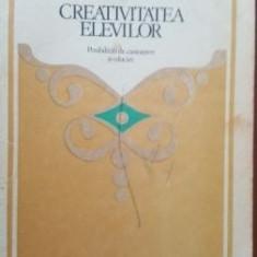 Creativitatea elevilor