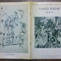 Expozitia de desene Vasile Kazar// 1968 - Album Pictura