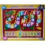 Puzzle ABC + 123 (30 de diese) 3 ani+