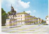 Bnk cp Alba Iulia - Statuia lui Mihai Viteazul si Muzeul Unirii - necirculata, Printata