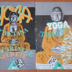 YOGA TIBETANA SI DOCTRINELE SECRETE 2 VOLUME 1993 - Carte ezoterism
