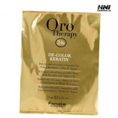 Oro Therapy pudra decoloranta cu keratina fara amoniac 75gr - Tratament par