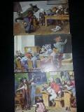 Carti postale vechi cu animatie animale,Caini-Pisici,Colectie,Transport GRATUIT, Circulata, Altul