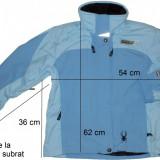 Geaca outdoor SPYDER originala, membrana 5000 mm (dama M) cod-261227, Jachete