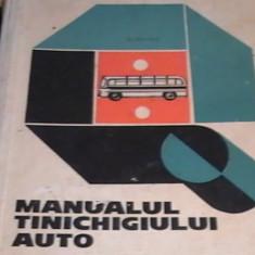 MANUALUL TINICHIGIULUI AUTO-H. FREIFELD-391 PG A 3-LITOGRAFIAT- - Carti auto