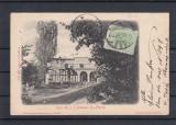 PITESTI -FLORICA CASA  I. C. BRATIANU DIN FLORICA  TCV  CLASICA  CIRCULATA  1907, Printata