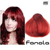 Vopsea de par blond rosu 7.6 Fanola