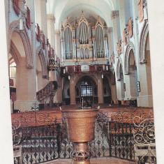 bnk cp Brasov - Biserica Neagra - Orga si cristelnita - necirculata