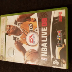 NBA Live 08 xbox 360 - Jocuri Xbox 360