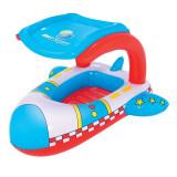 Barca gonflabila pentru copii Bestway, 102 x 97 cm, protectie UV