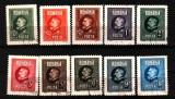 1926 l.p 74 stampilate, Stampilat