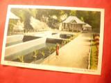 Ilustrata Baile Slanic Moldova - Crescatoria Pastravi 1935 -Ed.DC Patron Tecuci