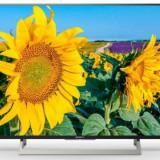 Televizor LED Sony 139 cm (55inch) KD55XF8096, Ultra HD 4K, X-Reality PRO, Smart TV, Android TV, WiFi, CI+
