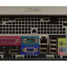 Calculator Dell Optiplex 780 Desktop SFF, Intel Core 2 Duo E8500 3.16 GHz, 2 GB DDR3, 250 GB HDD SATA, DVD-ROM, Windows 10 Home, 3 Ani Garantie