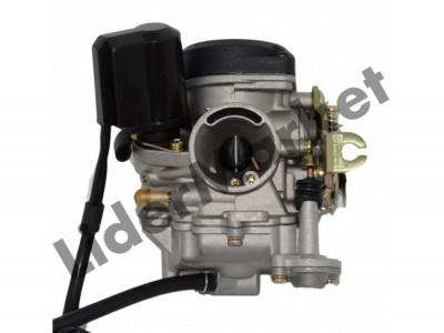 Carburator scuter chinezesc 4T GY6 80 foto