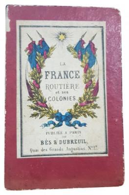 LA FRANCE ROUTIERE et ses COLONIES - PARIS 1871 foto