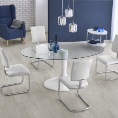 Set masa din fibra de sticla Coral + 4 scaune K295 - Fata De Masa Antichitati