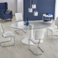 Set masa din fibra de sticla Coral + 4 scaune K295