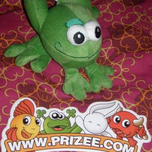 Broasca Frog Koulapic Prizee si 3 stickere abtibild Prizee