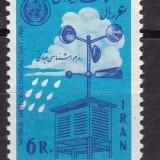 Iran 1964  meteorologie  MI 1210    MNH  w50, Nestampilat