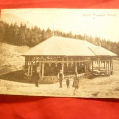Ilustrata Baile Tusnad - Pavilion circulat 1928 foto inedita  Adler Brasov
