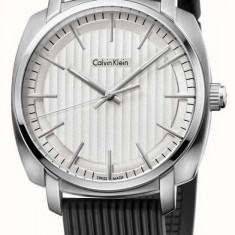 Calvin Klein K5M311D6 ceas barbati nou 100% original. Garantie, livrare rapida - Ceas barbatesc Calvin Klein, Casual, Quartz, Inox, Cauciuc, Rezistent la apa
