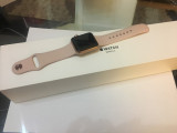 Vand iWatch series 3, 38 mm, Otel inoxidabil, 38mm, Rose Gold, Apple