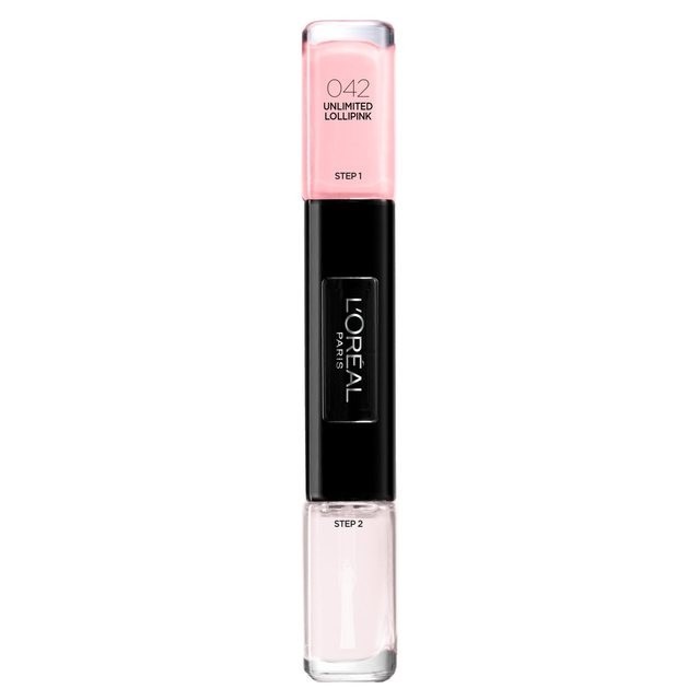 Lac de unghii L'oreal Infallible Gel Nail Polish 42 Unlimited Lollipink