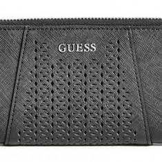 Guess Gia Slim Wallet portofel dama nou 100% original. Livrare rapida., Culoare: Alb, Negru