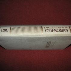 Dictionar Ceh-roman - (Editura Academiei)