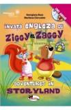 Invata engleza cu Ziggy&Zaggy - Vol. 2 (+DVD) | Georgiana Bose, Marilena Chirculete, Aramis