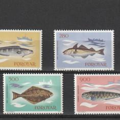 Fauna marina ,pesti ,Feroe., Nestampilat