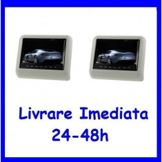 Set DVD Player + Monitor Tetiere GRI Recomandarea ERKaccesorii F171