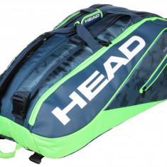 Tour Team 12R Monstercombi 2018 geanta rachete albastru-verde - Geanta tenis Head