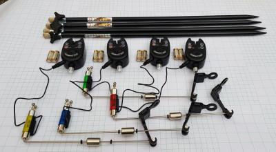 Set 4 Avertizori digitali TLI01 cu mufa jack 4 swingere cu iluminare si 4 Tije foto