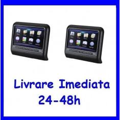 Set DVD Player + Monitor Tetiere Negre Recomandarea ERKaccesorii F171