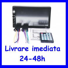 Player auto 2 DIN cu functie Mp3 Mp5 si Bluetooth USB TF CARD F138