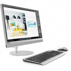 Sistem All in One Lenovo IdeaCentre 520-22IKL 21.5 inch FHD Touch Intel Core i5-8250U 4GB DDR4 1TB HDD Silver