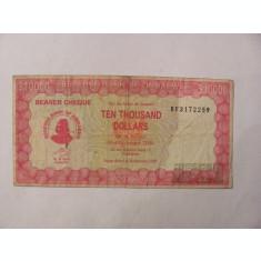 CY - 10000 dollars dolari 2003 Zimbabwe