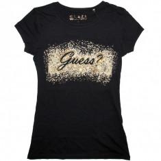 Tricou GUESS - Tricouri Dama, Femei - 100% AUTENTIC, Negru, M, Cu aplicatii, Guess by Marciano