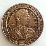 MEDALIA CENTENARUL RENASTERII INFANTERIEI ROMANE-1830-1930-VARIANTA DE 80 MM