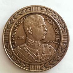 MEDALIA CENTENARUL RENASTERII INFANTERIEI ROMANE-1830-1930-VARIANTA DE 80 MM - Medalii Romania